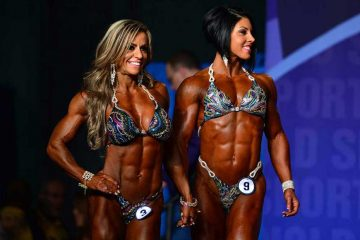 categorie di bodybuilding femminile
