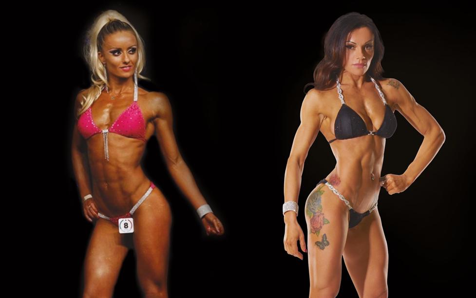 competizione di fitness femminile
